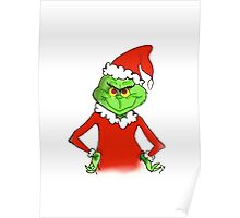 The Grinch Stole Christmas Poster