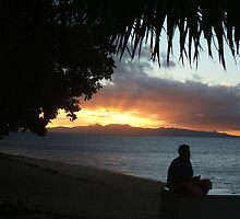 sunset in fiji by Hayley Walker
