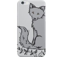 Gray Fox iPhone Case/Skin