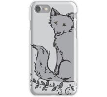 Gray Fox iPhone Case/Skin