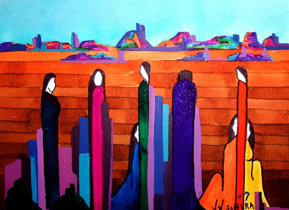 Spirit Rocks by Jamie Winter-Schira