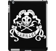 Love, Justice, CARNAGE iPad Case/Skin