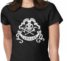 Love, Justice, CARNAGE Womens Fitted T-Shirt