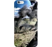 Riding the Chama Railroad in New Mexico iPhone Case/Skin