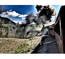 Riding the Chama Railroad in New Mexico Photographic Print