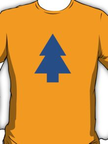 Dipper Pines Tree Shape // Gravity Falls T-Shirt