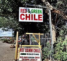 Hatch Chile Roasting  by Marielle O'Brien
