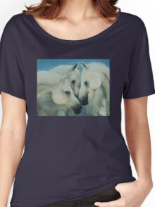 Three Horses Women's Relaxed Fit T-Shirt