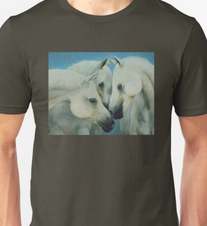 Three Horses Unisex T-Shirt