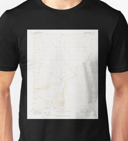 USGS TOPO Map Colorado CO Doyle Bridge 400589 1970 24000 Unisex T-Shirt