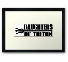 Daughters of Triton Framed Print