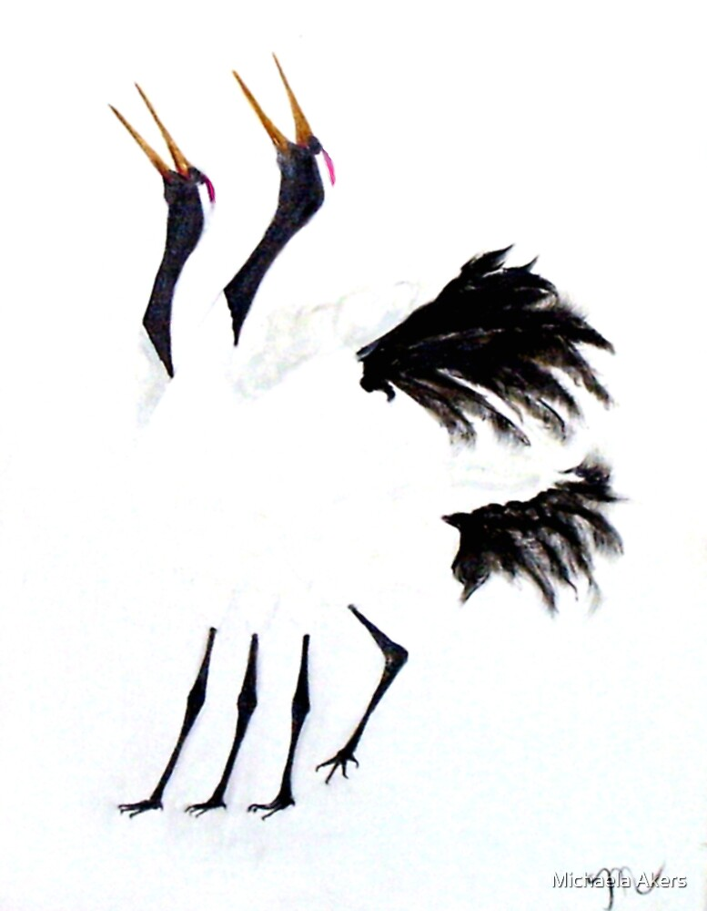 Duet of the Cranes by Michaela Akers