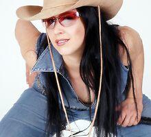 Cowgirl by Yvonne Bogdanski