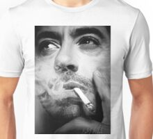 Robert Downey Jr. Digital Portrait Unisex T-Shirt