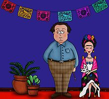 Diego y Frida (The Blue House) by mmducoing