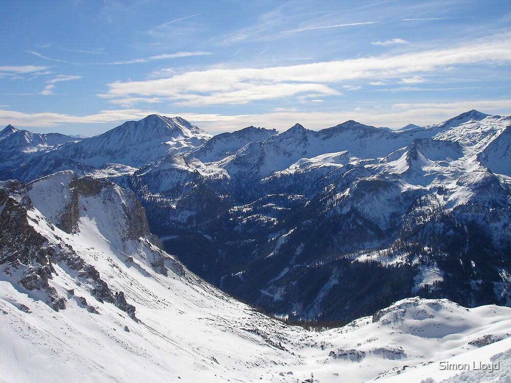 Mountain Tops by Simon Lloyd