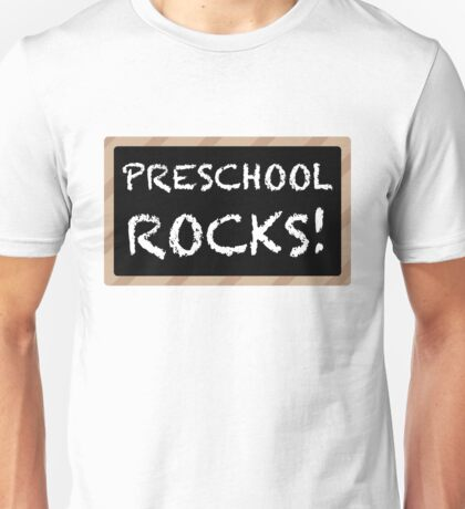 Preschool Rocks! Unisex T-Shirt