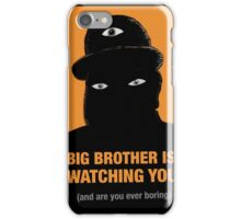 Bored Big Brother iPhone Case/Skin