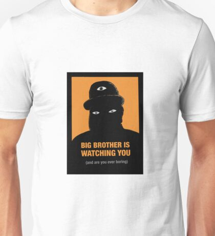 Bored Big Brother Unisex T-Shirt
