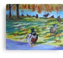 Guard Duck  Canvas Print