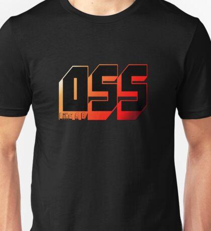 OSS (Like a boss) Unisex T-Shirt