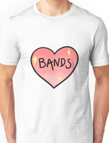 love bands Unisex T-Shirt
