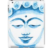 BUDDHA FACE BLUEPRINT  iPad Case/Skin