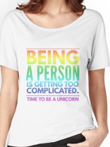Time to Unicorn Funny joke T-Shirts Women's Relaxed Fit T-Shirt