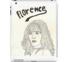 sketch of Florence from Florence + the machine iPad Case/Skin