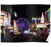 New Mexico State Fair in Albuquerque Poster