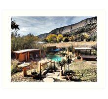 Giggling Springs in Jemez Springs, New Mexico Art Print