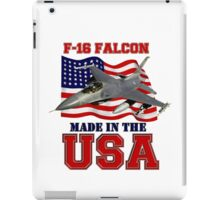 F-16 Falcon Made in the USA iPad Case/Skin