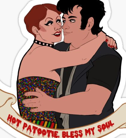 RHPS- Hot Patootie  Sticker