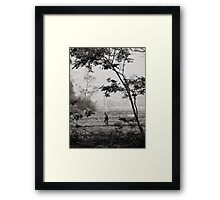 daily life Framed Print