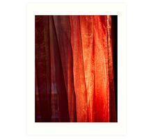 Curtain of Fire Art Print