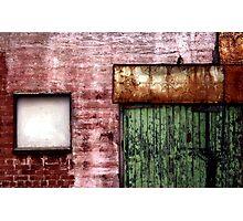 Old building facade, Richmond Photographic Print