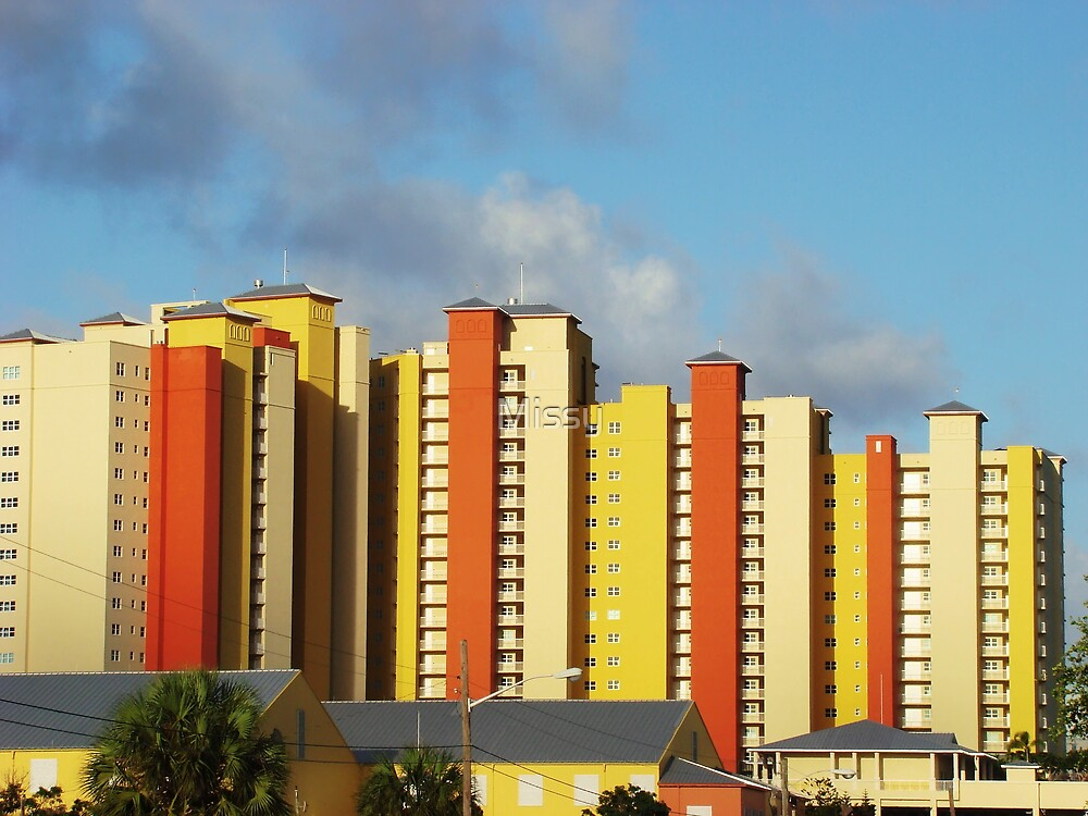 Colorful southern architecture by Missy