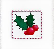 Christmas Holly by LichtenStrange