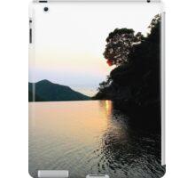 Falling Sun on Natural Pool - Hong Kong. iPad Case/Skin