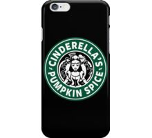 Cinderella's Pumpkin Spice iPhone Case/Skin