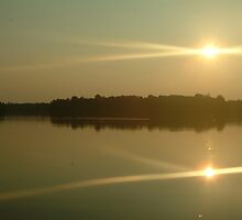 lake sunset by Quintin08