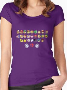 Melee Sprites Women's Fitted Scoop T-Shirt
