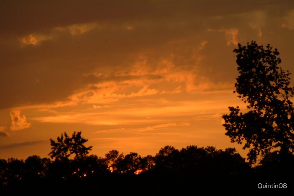 orange sunset by Quintin08