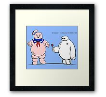 Diagnosis, Toasted! Framed Print