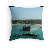 The Flying Dutchman 2 Throw Pillow
