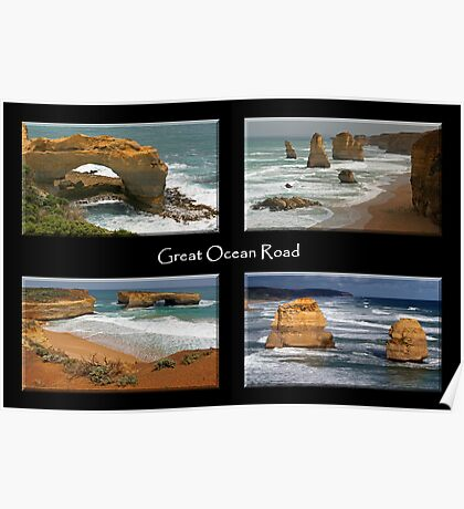 Great Ocean Road Poster