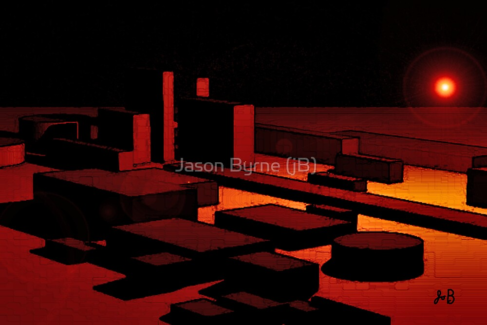 LIGHT AND SHAPES by Jason Byrne (jB)