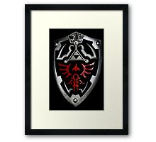 The Dark Hero Framed Print