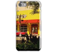 YELLOW AND RED WOW! iPhone Case/Skin