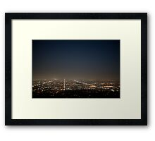Just Take That One Road Framed Print